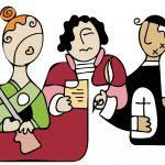 Casta, Asso y el cura Sas